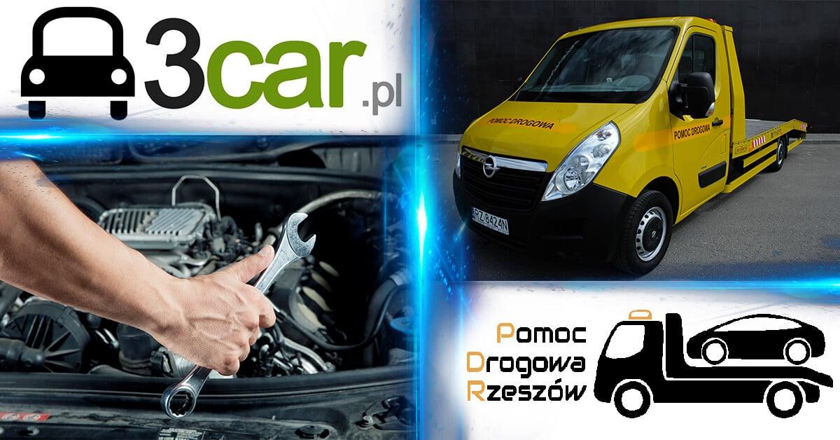 Współpraca Pomoc Drogowa Rzeszów i firma 3car