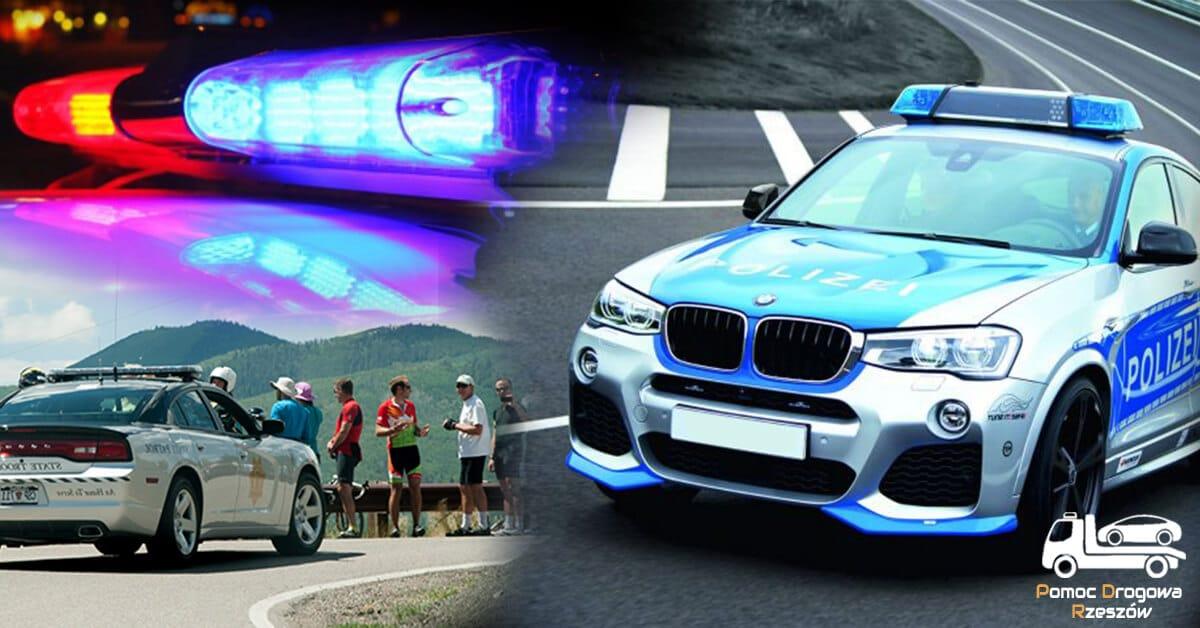 Pomoc drogowa uczy jak zachować się podczas wypadku