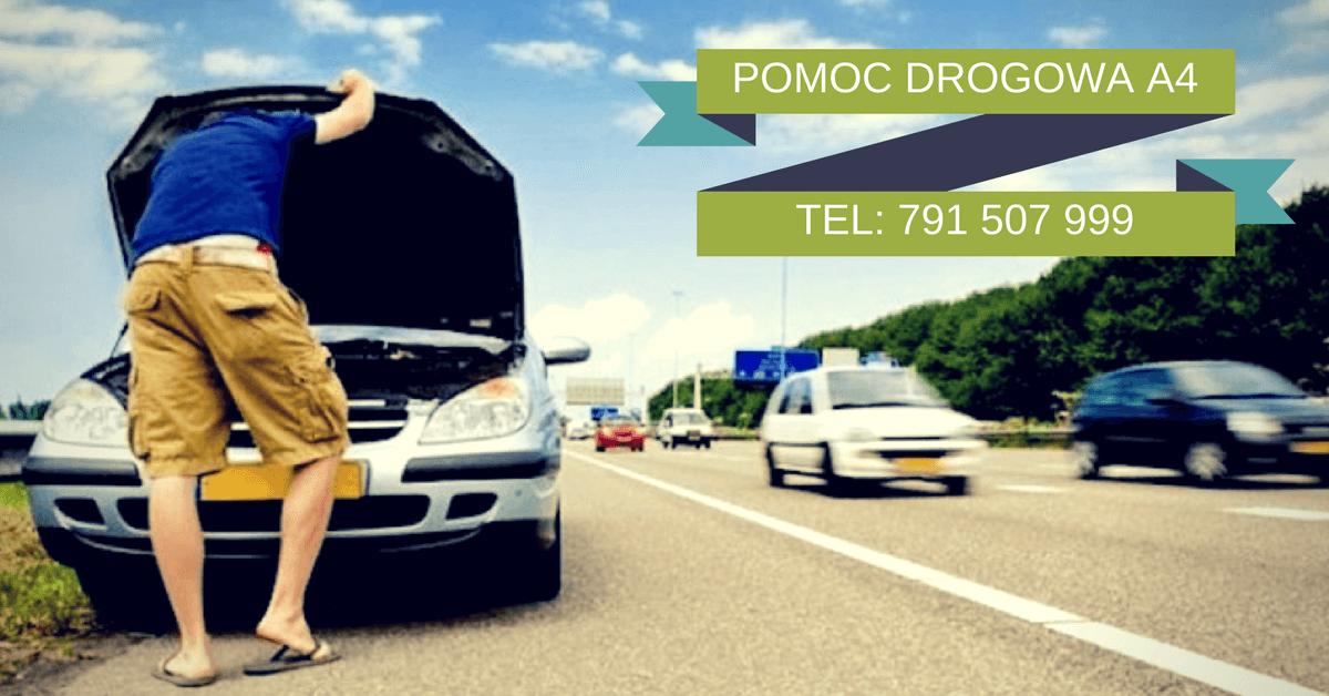 Nieprzewidziany postój na autostradzie – Pomoc Drogowa A4