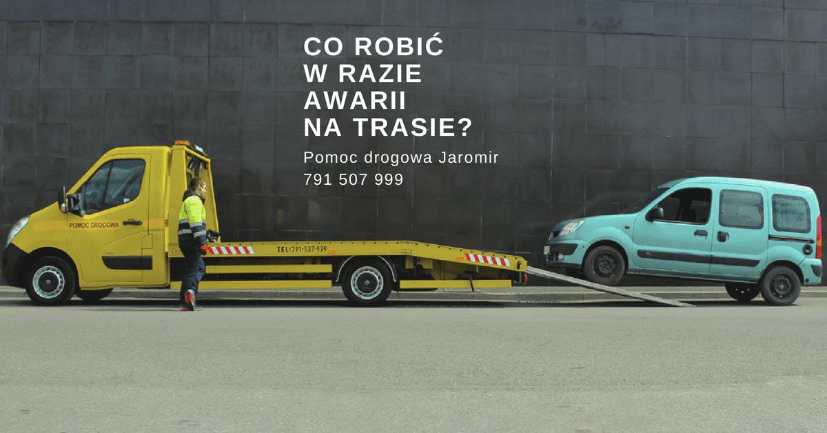 Co robić w razie awarii samochodu na trasie? | Pomoc Drogowa Jaromir