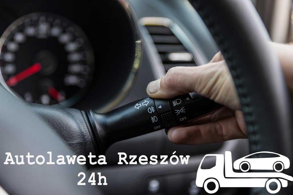 Autolaweta Rzeszów. Jazda we mgle