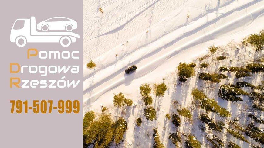 Zimowa jazda- Pomoc Drogowa 24h